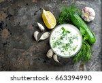 Greek Sauce Tzatziki With...