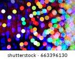 colorful sparkling lights   Shutterstock . vector #663396130