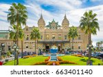 monaco  monte carlo   september ...   Shutterstock . vector #663401140
