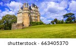 most beautiful castles of... | Shutterstock . vector #663405370
