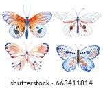 vector illustration of... | Shutterstock .eps vector #663411814