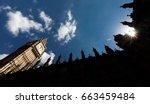 london  uk   apr 19  2017  big... | Shutterstock . vector #663459484