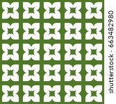seamless pattern. modern...   Shutterstock . vector #663482980