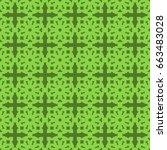 seamless pattern. modern...   Shutterstock . vector #663483028