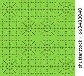 seamless pattern. modern...   Shutterstock . vector #663483040