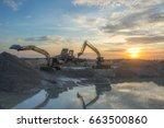 Tracked Excavator  Stop Workin...