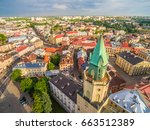 Lublin From The Bird's Eye Vie...