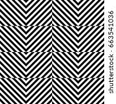 vector seamless pattern.... | Shutterstock .eps vector #663541036