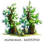 cartoon illustration of a... | Shutterstock .eps vector #663552910