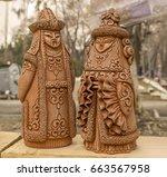Ceramic Figurines Of Kazakh Ma...