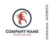 scorpion logo | Shutterstock .eps vector #663580924