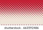 halftone background. pop art... | Shutterstock .eps vector #663592486