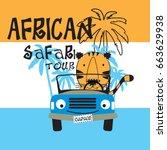 African Safari Tour With Tiger...