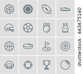 vector illustration of 16... | Shutterstock .eps vector #663675160
