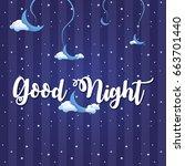 vector illustration of wish... | Shutterstock .eps vector #663701440