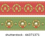 vector christmas background for ... | Shutterstock .eps vector #66371371