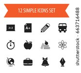 set of 12 editable knowledge...