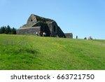 hell fire club.mountpelier hill....   Shutterstock . vector #663721750