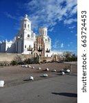 Mission San Xavier Del Bac  A...