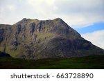 glen coe  scotland | Shutterstock . vector #663728890