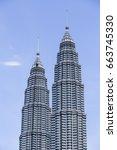 kuala lumpur  malaysia  ... | Shutterstock . vector #663745330