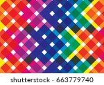 colorful abstract background | Shutterstock .eps vector #663779740