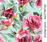Roses Seamless Pattern....