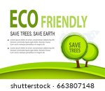 brochure template flyer design... | Shutterstock .eps vector #663807148