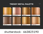gold gradient template.... | Shutterstock .eps vector #663825190