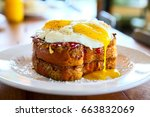 Stack Of French Toast With Two...