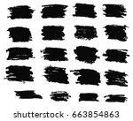 grunge urban background.texture ... | Shutterstock .eps vector #663854863