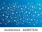 abstract technology background | Shutterstock .eps vector #663857626