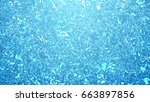 abstracts refraction water... | Shutterstock . vector #663897856