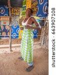 lilongwe  malawi   september 05 ... | Shutterstock . vector #663907108