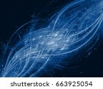 abstract modern background with ... | Shutterstock . vector #663925054