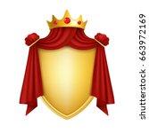 coat of arms. vector...   Shutterstock .eps vector #663972169