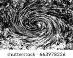 black and white vortex... | Shutterstock . vector #663978226