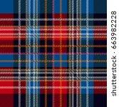 elegant checkered pattern for...   Shutterstock .eps vector #663982228