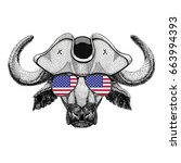 Buffalo  Bull  Ox Wearing...