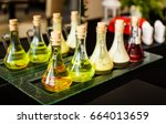 Bottles With Different Kinds O...