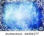blue christmas grunge texture... | Shutterstock . vector #66406177