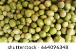green peas    harvest | Shutterstock . vector #664096348