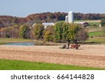 Small photo of Autumn Amish Farm by Lancaster,Pennsylvania