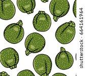 vector illustration of hand... | Shutterstock .eps vector #664161964