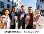 business  education and... | Shutterstock . vector #664198444