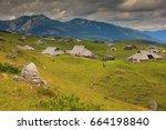 slovenia  julian alps  velika... | Shutterstock . vector #664198840