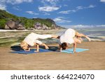 Fitness  Sport  Yoga And Peopl...
