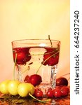 paradise cherry   Shutterstock . vector #664237240