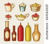 vector illustration of an... | Shutterstock .eps vector #664262620