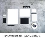 corporate identity mockup | Shutterstock . vector #664265578